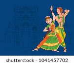 vector design of couple... | Shutterstock .eps vector #1041457702