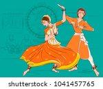 vector design of couple... | Shutterstock .eps vector #1041457765