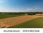 aerial view of a rural... | Shutterstock . vector #1041482266