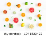 fruit background. colorful... | Shutterstock . vector #1041533422