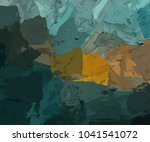 oil painting on canvas handmade.... | Shutterstock . vector #1041541072