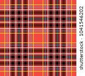 scottish cage  red celtic.... | Shutterstock .eps vector #1041546202
