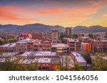 asheville  north caroilna  usa... | Shutterstock . vector #1041566056
