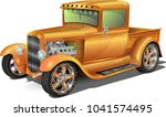 Hot Rod Truck  Fully Editable....