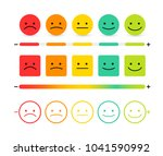 set of feedback concept design  ... | Shutterstock .eps vector #1041590992
