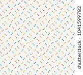 repeated mini triangles... | Shutterstock .eps vector #1041599782