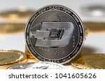 Small photo of dash crypto coin in front of others