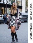 paris october 2  2017. street... | Shutterstock . vector #1041616156