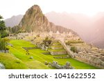 machu picchu  lost city of... | Shutterstock . vector #1041622552