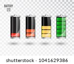battery charging. battery... | Shutterstock .eps vector #1041629386