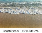 sea waves in the sand | Shutterstock . vector #1041631096