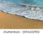 sea waves in the sand | Shutterstock . vector #1041632902