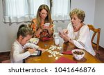 grandmother  daughter and... | Shutterstock . vector #1041646876