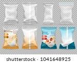 polypropylene plastic packaging ...   Shutterstock .eps vector #1041648925