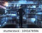 important statistics. calm... | Shutterstock . vector #1041678586