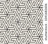 vector seamless lattice pattern.... | Shutterstock .eps vector #1041682606