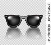 vector sunglasses. realistic | Shutterstock .eps vector #1041691828
