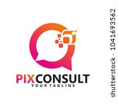 consulting logo corporation   Shutterstock .eps vector #1041693562