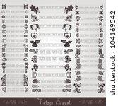 vintage label symbol element | Shutterstock .eps vector #104169542