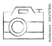 photographic camera isolated... | Shutterstock .eps vector #1041707896