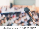 blurred and soft focus of head... | Shutterstock . vector #1041710362