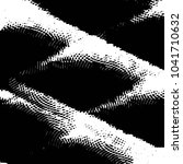 grunge halftone black and white ... | Shutterstock . vector #1041710632