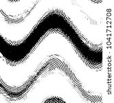 black and white grunge stripe... | Shutterstock . vector #1041712708