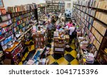 libraries in medell n  colombia ... | Shutterstock . vector #1041715396