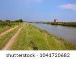 landscape the po delta | Shutterstock . vector #1041720682
