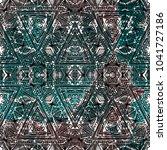 ethnic design. striped... | Shutterstock . vector #1041727186