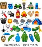 outdoor   Shutterstock .eps vector #104174675