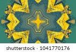 multicolored kaleidoscope... | Shutterstock . vector #1041770176