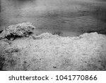 old photo beautiful seashore... | Shutterstock . vector #1041770866
