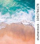aerial beach photography | Shutterstock . vector #1041786178
