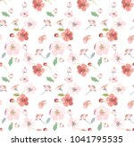 seamless pattern with small... | Shutterstock .eps vector #1041795535