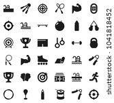 flat vector icon set   award... | Shutterstock .eps vector #1041818452