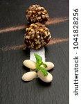 Small photo of Chocolate praline - Amlond and nut