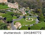 aerial drone view of the... | Shutterstock . vector #1041840772