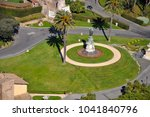 aerial drone view of the... | Shutterstock . vector #1041840796