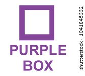 color box with word  box in... | Shutterstock .eps vector #1041845332