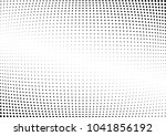 abstract halftone wave dotted... | Shutterstock .eps vector #1041856192