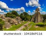 guatemala. tikal national park...   Shutterstock . vector #1041869116