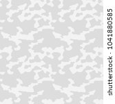 winter camo pattern  background ... | Shutterstock .eps vector #1041880585