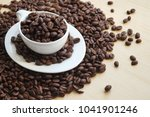 raw coffee  coffee beans   Shutterstock . vector #1041901246