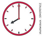 vector of clock | Shutterstock .eps vector #1041907612