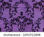damask pattern ornament decor... | Shutterstock .eps vector #1041911848