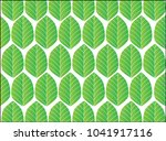 green leaf background    tree ... | Shutterstock .eps vector #1041917116