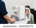 the boy is the patient on... | Shutterstock . vector #1041920176