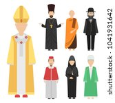religion people characters... | Shutterstock .eps vector #1041931642