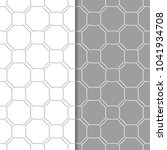 gray and white geometric... | Shutterstock .eps vector #1041934708